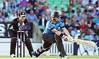Matt Machan (right) in action for Sussex