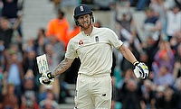 Ben Stokes celebrating his century in the third Test against South Africa
