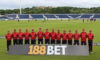 Durham team posing