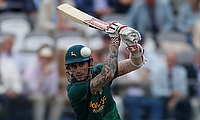 Alex Hales scored a blistering half century for Nottinghamshire