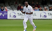 Kemar Roach picked a five wicket haul in the tour game against Essex in Chelmsford