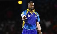 Kieron Pollard scored 62 off 33 balls in the chase