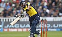 Shahid Afridi scored 101 off 43 balls