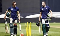 Both David Miller (left) and Faf du Plessis are part of the World XI squad