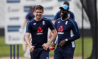 Ottis Gibson's (right) tenure with England will come to an end with the Test series against West Indies