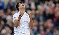 Steven Finn made his first-class debut with Middlesex in 2005