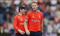 Eoin Morgan (left) believes Ben Stokes will benefit from the break