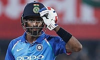 Hardik Pandya continued his terrific form in the Indore ODI