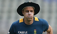 Morne Morkel picked up a side strain in the first Test against Bangladesh