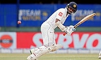 Dimuth Karunaratne scored 196 runs