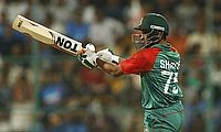 Shakib Al Hasan scored 68 runs