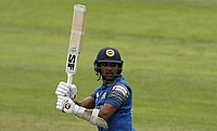 Dinesh Chandimal has managed just six runs in the first two ODIs against Pakistan