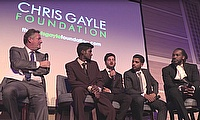 Success At Chris Gayle Foundation Dinner