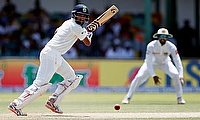 Cheteshwar Pujara (left) showed a lot of character