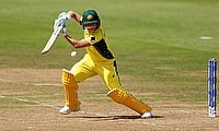 Beth Mooney registered her maiden T20I fifty