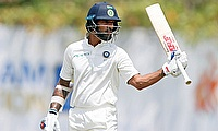 Shikhar Dhawan scored 94 before he was dismissed