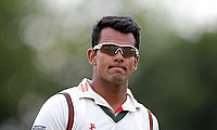 Derbyshire has terminated the contract of Shiv Thakor