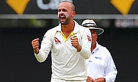 Nathan Lyon picked five wickets in the Brisbane Test