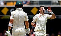 James Anderson (right) wants England to target Steven Smith