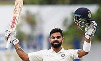 Virat Kohli continued his masterclass in the Delhi Test