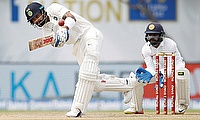 Virat Kohli (left) continues his dominance