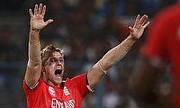 David Willey picked two wickets in the game