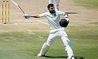 India's Virat Kohli celebrates his century