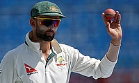 Nathan Lyon came up with a man of the match performance