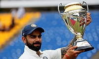 Virat Kohli scored five double centuries in the qualification period