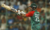 Shakib Al Hasan scored 67 runs and picked three wickets