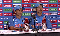 Prithvi Shaw & Shubman Gill on India v Pakistan | ICC u19 World Cup 2018