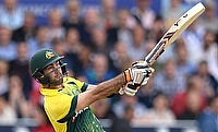 Glenn Maxwell scored his second T20I century