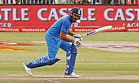 Rohit Sharma scored his maiden century in South Africa