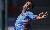 Mohammad Nabi picked two wickets in the game