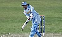 Mithali Raj scored a half-century
