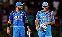 Virat Kohli (left) and MS Dhoni will miss the Tri-Series in Sri Lanka