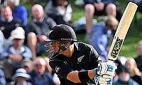 Ross Taylor recorded his highest ODI score in Dunedin