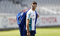 James Anderson in an England Cricket Training Session