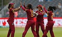 West Indies Women Celebrating