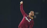 Sunil Narine is reported for a suspect bowling action once again