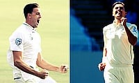 Morne Morkel (left) and Trent Boult won the man of the match awards in their respective games