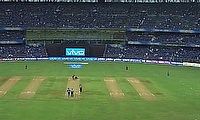 Ishan Kishan walks out of the match midway after being hit near the eye