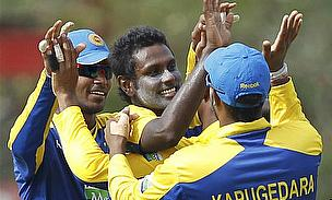 Angelo Mathews Rescues Sri Lanka