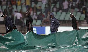 Rain Prevents Timely Start In St. Lucia