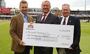 Tarrant Takes Over As Lord's Taverners President