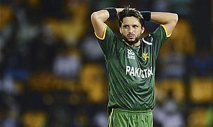 Shahid Afridi Helps Pakistan Go 1-0 Up In Dubai