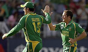 ICC WT20: South Africa Thump Pakistan In Warm-Up REUTERS/Siphiwe Sibeko (SOUTH AFRICA SPORT CRICKET)