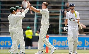 Steyn & Morkel Combine To Bowl England Out For 180