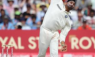 Harbhajan Singh Reprimanded For Kicking Out