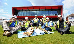 Builders Picnic At The Point At Lancashire CCC